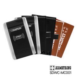 ARMSTRONG 卡片式電子儲櫃抽屜鎖_外接盒型(SDWC-MC001)x2組(DIY自行組裝)