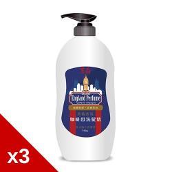 東森台塑英倫香氛咖啡因洗髮精750gx3瓶