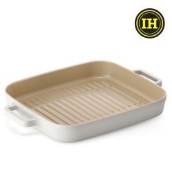 NEOFLAM FIKA系列 28cm 鑄造不沾方形烤盤(IH、電磁爐適用)