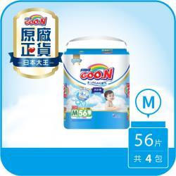 大王GOO.N紙尿布 輕薄舒爽-褲型M(56片X4串)