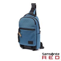 Samsonite RED ONSE 超輕量尼龍休閒斜肩包(藍)-HE0*21003