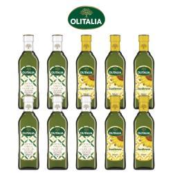 奧利塔特級初榨橄欖油500ml*5罐+奧利塔頂級葵花油500ml*5罐