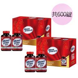 【Schiff 】特MoveFree葡萄糖胺錠禮盒組(150錠x4共600錠)