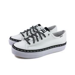 Keds TRIPLE KICK LOGO 休閒鞋 厚底 白色 女鞋 9201W132984 no333