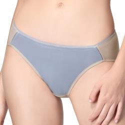 思薇爾 超洞感系列M-XXL低腰三角內褲(大地棕)