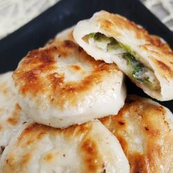 [老爸ㄟ廚房]迷你脆皮蔥肉餡餅 4包(600g±5%/20顆/包)