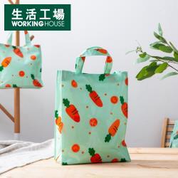 【生活工場】胡蘿蔔樂園長型購物袋