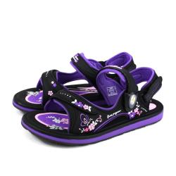 G.P 阿亮代言 涼鞋 女鞋 防水 雨天 黑/紫 G0747W-41 no249