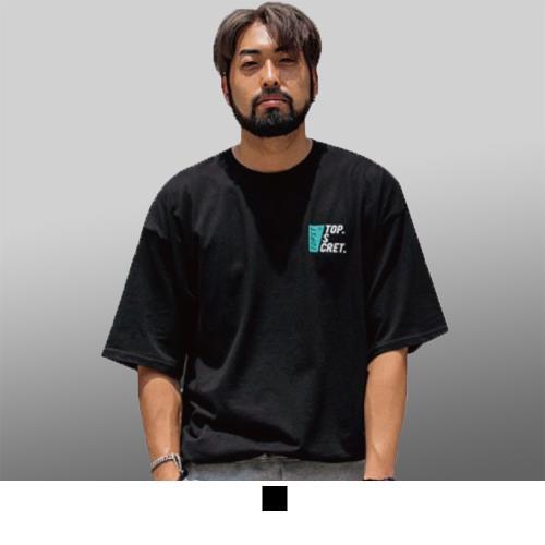 【男人幫大尺碼】T8040*台灣製造潮流純棉英文字母短袖T恤/