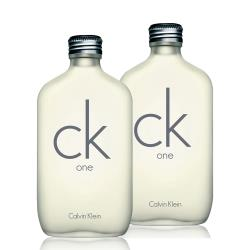 Calvin Klein 卡文克萊 CK one 中性淡香水(100ml)2入