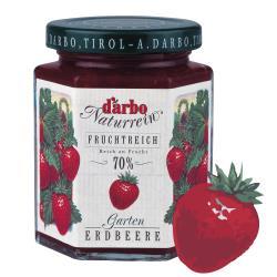 【D'arbo德寶】70%果肉天然草莓果醬 200g(可沖泡果茶/純天然/最新鮮)