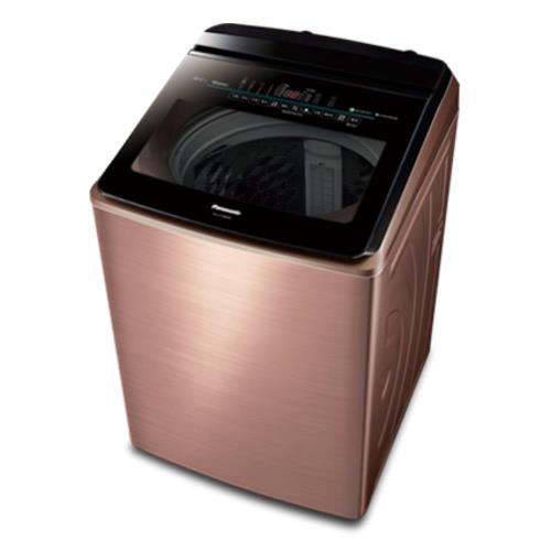 Panasonic國際牌18公斤變頻洗衣機(薔薇金)NA-V198EBS-B-庫/