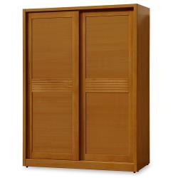 【時尚屋】[NM29]米堤柚木5x7尺衣櫥NM29-574免運費/免組裝/衣櫃