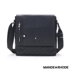MANDE RHODE - 巴弗洛 - 真皮訂製掀蓋斜背包 - X2279