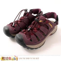 魔法Baby 女運動鞋 護趾防撞水陸兩用運動涼鞋~sa02622