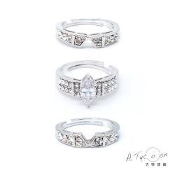 【A Tycoon Jewelry】女神之最CZ美戒(K0015)