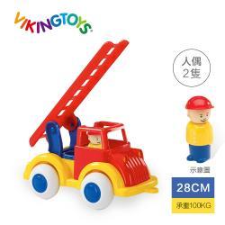 【瑞典 Viking toys】Jumbo天梯小雲車(含2隻人偶)-28cm
