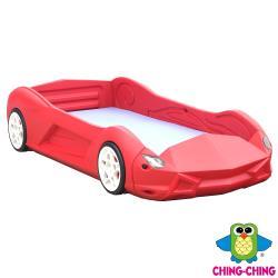 親親Ching Ching 時尚跑車防撞兒童床(附床墊)