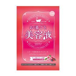 日本 Bison美容液入浴劑/玫瑰莓果60g(3包)