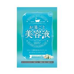 日本 Bison美容液入浴劑/白色花束60g(3包)