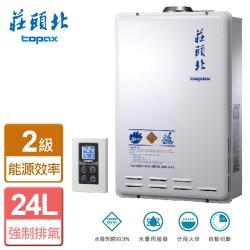 【莊頭北】 TH-7245FE- 24L數位恆溫強排型熱水器 (FE式)  -僅北北基含安裝