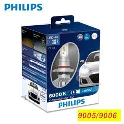 PHILIPS 飛利浦 X-treme Ultinon超晶亮LED9005/9006 頭燈兩入裝(公司貨)