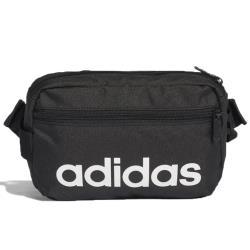 【現貨】Adidas LINEAR CORE 腰包 肩背 斜背 休閒 健身 黑 【運動世界】DT4827