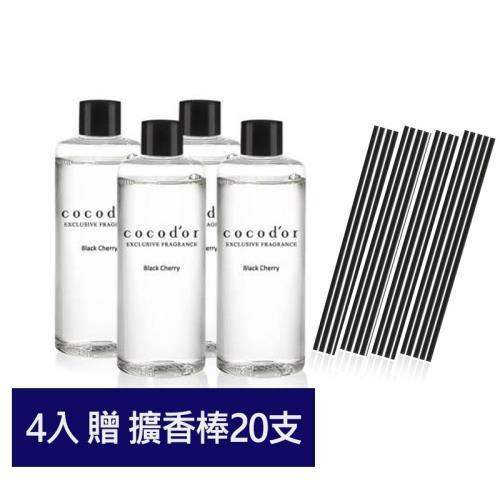 韓國cocodor經典室內擴香補充瓶200ml(4入)