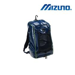 MIZUNO 美津濃 裝備背包 深藍X綠 1FTD000114