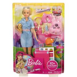 MATTEL 芭比娃娃 - 芭比旅行套裝