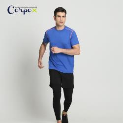 【Corpo X】男款反光吸排T恤-適夜跑(2款2色可選)