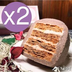 【MENIPPE 媚力泊】香濃芋頭拿破崙蛋糕捲 2條入