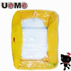 任-UNME後背專用書包雨衣(黃色)