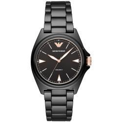 Emporio Armani 亞曼尼Nicola 精密陶瓷時尚手錶-40mm AR70003