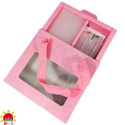 MIT【olina】SOFF 口罩減壓護套-乾燥玫瑰+收納夾~寵愛媽咪禮盒