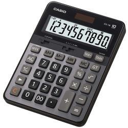 【CASIO】 10 位元 商用大型桌上型計算機-黑灰 ( DS-1B )