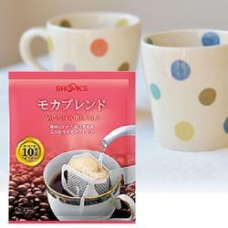 【日本BROOK'S布魯克斯】摩卡綜合25入獨享袋(掛耳式濾泡黑咖啡)