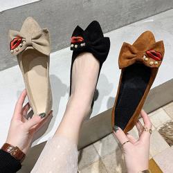 【Alice 】 (預購)甜心清新甜美可愛塗鴉尖頭鞋