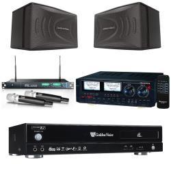 金嗓 CPX-900 R2電腦伴唱機 4TB+HD-1000擴大機+ACT-869 PRO無線麥克風+KSP90B 卡拉OK喇叭