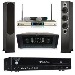 金嗓 CPX-900 R2電腦伴唱機 4TB+AK-800擴大機+MR-3000D IV無線麥克風+S428主喇叭