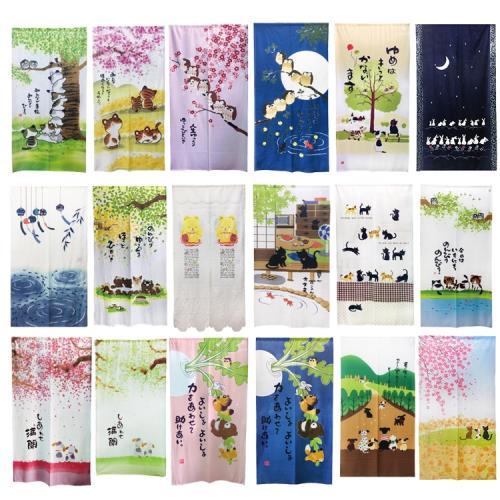 台灣製造日式和風門簾 風水簾 檔煞簾