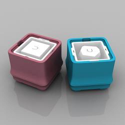 POLAR ICE 極地冰盒 - 方竹系列 雙個超值組 (藍+粉)