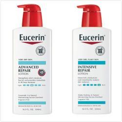美國Eucerin(密集修護乳液)無香-2款(16.9oz)*2