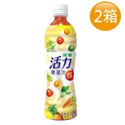 波蜜-活力果菜汁 500gx24瓶/箱x2箱