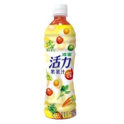 波蜜-活力果菜汁 500gx24瓶/箱