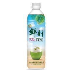 半天水-鮮剖100%純椰子汁500gx24瓶/箱