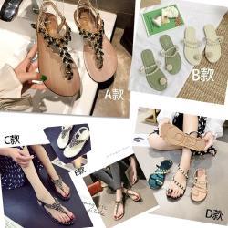 【森之舞】時尚仙女風多款涼鞋熱銷特賣-5選1-預購