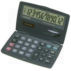 【CASIO】12位元攜帶型可折疊計算機(SL-220TE)