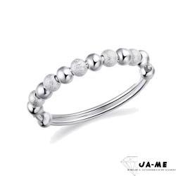 【JA-ME】990千足銀財源滾滾手鐲(1)