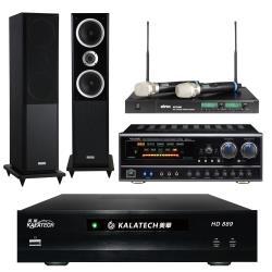 美華 HD-889電腦伴唱機 3TB+BB-1 BT擴大機+ACT-880無線麥克風+W-260主喇叭